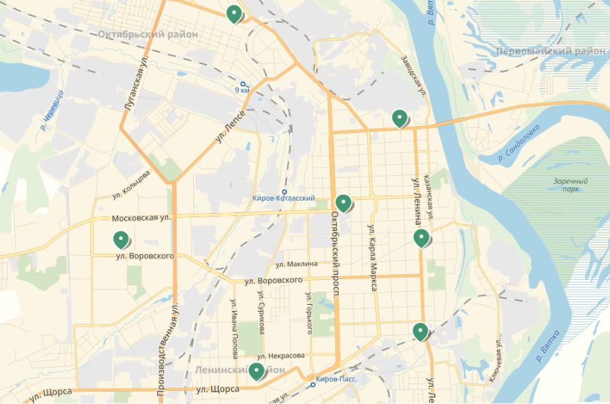 Где найти адреса БК «Лига Ставок» в Ижевске и Кирове?